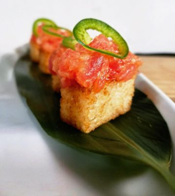 Crispy Rice  Spicy Tuna  Jalepeos