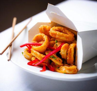 Friday cravings! Kung Pao Calamari   NewYork LongIsland EastNorwichhellip